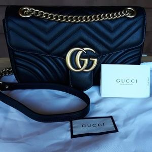 Gucci Marmont Crossbody Purse